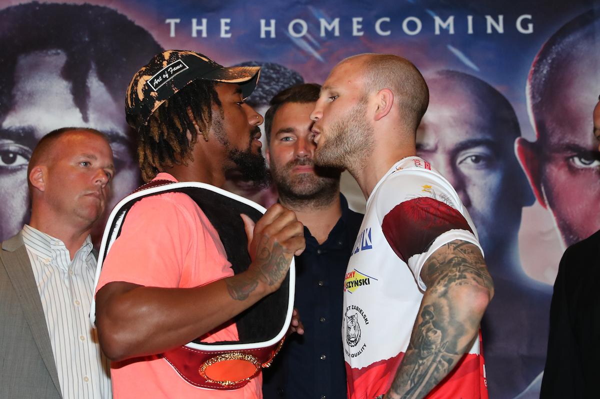 ANDRADE VS. SULECKI FINAL PRESS CONFERENCE – Boxing Action 24